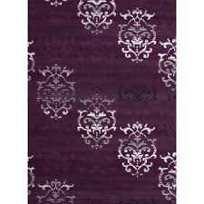 Purple And Grey Area Rugs Purple Rugs You Ll Wayfair