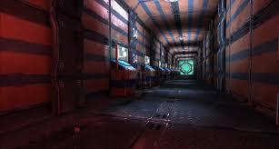 corridor lighting scifi corridor chidomo com