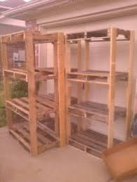 Building Wood Shelves Garage by Cheap Garage Shelves Ideas How To Make A Basement Storage Shelf