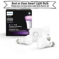 top of the class the best smart light bulbs
