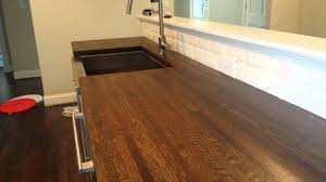 butcher block countertops pt 2 hardwood floor refinishing butcher block countertops pt 2 hardwood floor refinishing charlotte nc youtube