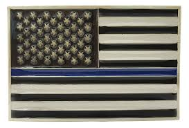 American Flag Zippo Police Thin Blue Line American Flag Belt Buckle With Leather Belt