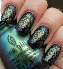 30 classic mermaid nails art design