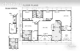 triple wide floor plans on house or manufactured home