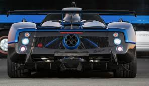 pagani zonda engine blue carbon pagani zonda roadster f 1 1 cars