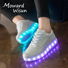 big kids light up shoes luminous sneakers casual shoes glowing sneakers big kids children