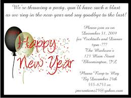 new year invitation card and confetti new years party invitations