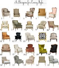 Style Chairs A Bergere Chair For Every Style The Anatomy Of Design