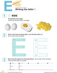 learn to write uppercase letters education com
