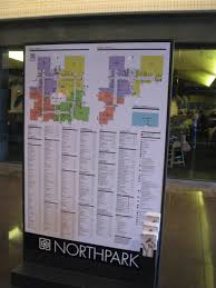 Michigan City Outlet Mall Map by Northpark Center Dallas Texas Labelscar