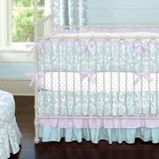 Purple And Aqua Crib Bedding Aqua Haute Baby Crib Bedding Teal Accents Bubblegum Pink And