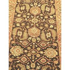 Indian Runner Rug Knotted Indian Runner Rug 3 X 10 Chairish
