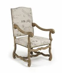 French Script Armchair French Script Chair Probrains Org