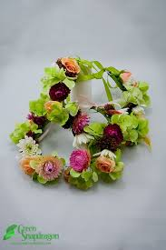 crowning floral spray 29 best floral wreaths and flower crowns images on