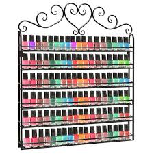 10 best nail polish racks and how to make one beautified designs