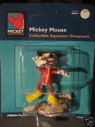 disney mickey mouse fish tank ornament vintage nr 108106078