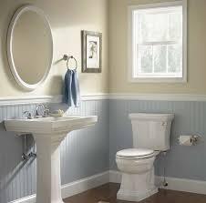 wainscoting bathroom ideas pictures bathroom designs wainscoting in bathroom ideas with pale blue wall