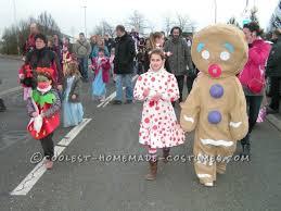 Halloween Costumes Gingerbread Man Homemade Gingerbread Man Costume