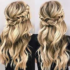 Hairstyle Best 25 Half Up Hairstyles Ideas Only On Pinterest Bridesmaids