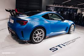 subaru brz custom the subaru brz sti performance concept is a little monster