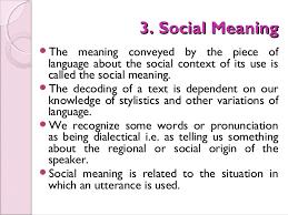 semantics seven types of meaning