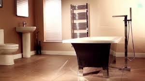 Freestanding Bathroom Furniture Uk by Cascade Waterfall Freestanding Bath Shower Mixer Tap Youtube