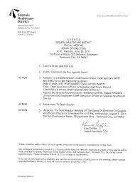 board of directors special meeting agenda june 28 2011 sequoia