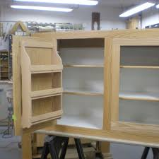 As Seen On Tv Spice Rack Organizer Hand Made Red Oak Kitchen Cabinet With Interior Spice Rack By