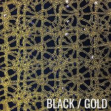 gold lace table runner flower chain lace table runner urquid linen