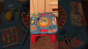 thomas the tank activity table thomas the tank musical activity table youtube