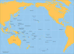 Asia Pacific Map by Pacific Ocean Cartogis Services Maps Online Anu