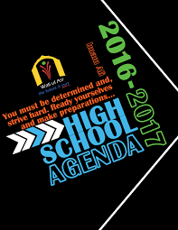high school agenda high school agenda cover designer writer