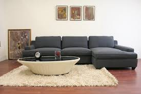 3 sectional sofa with chaise kaspar slate gray fabric modern sectional sofa affordable modern