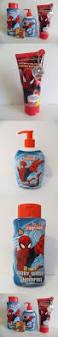 Marvel Bathroom Set Marvel Spiderman Bathroom Set 4 Pieces Body Wash Shampoo Hand Soap