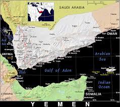 Map Of Yemen Ye Yemen Public Domain Maps By Pat The Free Open Source