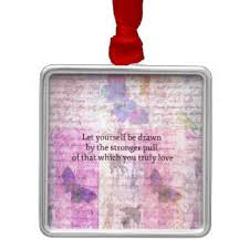 rumi quotes ornaments keepsake ornaments zazzle