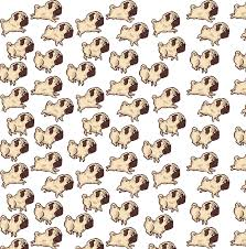 halloween pet background use this pattern to make a cute pug background for your twitter or