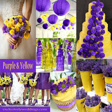 yellow color combination purple wedding color combination options exclusively weddings