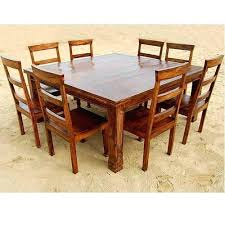 Square Dining Room Table 8 Person Dining Set Square 8 Person Dining Table 8 Chair Square