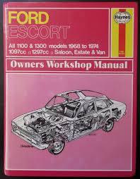 ford escort owners workshop manual by j h haynes abebooks