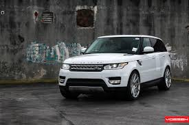 land rover car 2014 2014 range rover sport gets vossen wheels autoevolution