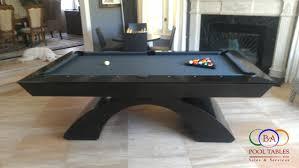 modern black table modern pool table modern billiard table image of boston