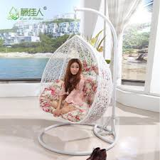Two Person Swing Chair Two Person Seat Outdoor Indoor Rattan Wicker Hanging Swing Egg