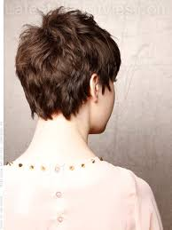 short brunette hairstyles front and back soft pixie short brunette style back view hair cuts pinterest