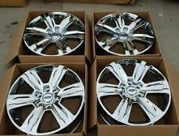 ford f150 platinum wheels 20 ford f150 f 150 oem factory stock wheels rims chrome 10004