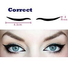 dolovemk 40 pairs temporary eye sticker transfer eyeshadow