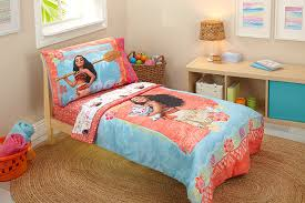 amazon com disney moana toddler 4 piece bedding set baby