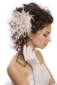 alternatives to wedding veils 10 and stylish wedding hair