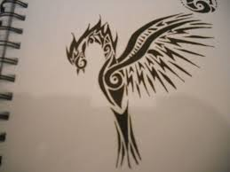 phoenix tribal tattoo by mikaylamettler on deviantart