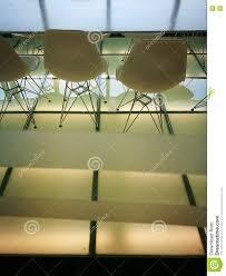 Minimalist Modern Bright And Minimalist Modern Office Meeting Room Stock Photo